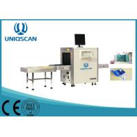 Quality Multi Energy 600 * 400 mm X Ray Baggage Scanner With 40AWG Wire Resolution for sale