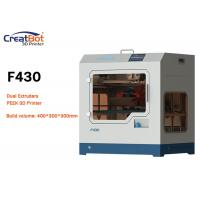 Buy cheap High Resolution Carbon Fiber 3D Printer CreatBot F430 For Aerospace / Electronic from wholesalers