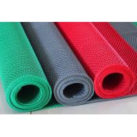 Quality Red Color Anti Slip PVC S Mat Waterproof No Slip Pool Mat For Swimming Pool for sale