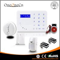 Quality 433MHz Home Wireless GSM Security Alarm System Support APP Control for sale