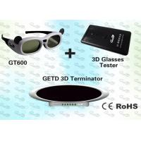 Quality OEM 3D Cybercafé Solution with 3D IR emitter and glasses  for sale