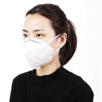 Quality Safety Protective Fold Flat Mask , Disposable N95 Mask With High Filter Efficiency for sale