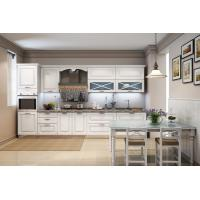 China Moisture Resistant Particle Board Kitchen Cabinets 16mm Melamine Board Making on sale