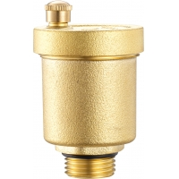 Quality DN15 DN20 DN25 Brass Air Vent Valve Threaded With Check Function for sale