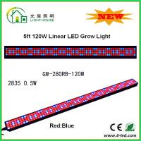 Buy cheap IP44 High BrightnessLinear Grow Lights For Indoor Plants , PPMA Cover from Wholesalers