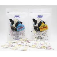 Quality Blueberry Flavor Chewy Milk Candy In Bag Individual Packing HACCP for sale