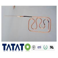 Quality Refrigeration Copper Tubing Pipe Fittings / Suction Connecting Tube ROHS for sale