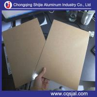 Quality polycraft paper laminated 1050 1060 3003 alloy aluminum coil for pipe jacketing for sale