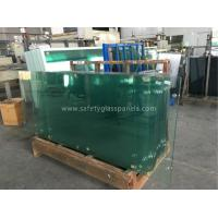 Custom Clear Tempered Safety Glass For Coffee Table / House Window