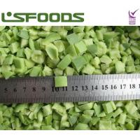 Quality new crop frozen sweet green pepper dices for sale