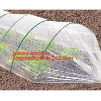 Quality high light transmittance solar control seeding nursery greenhouse covers,100% virgin LDPE protective single layer cucumb for sale