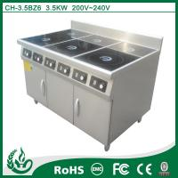 Quality China company and factory chuhe brand stoves induction range cooker for sale