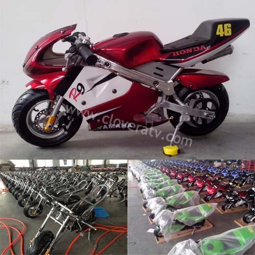 Motorcycles 49cc Mini Bike Kids Pocket bike CE of ec91140028