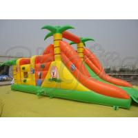Quality Commercial Inflatable Bouncer With Slide PVC Colourful Inflatable Jumping Castle for sale