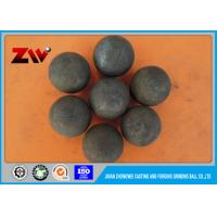 Quality HRC 60-68 High Density Cement Plant use Cast iron Grinding balls for ball mill for sale
