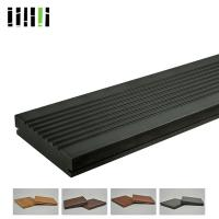 Quality Fireproof Anti Slip Carbonized Strand Bamboo Flooring For Swimming Pool for sale