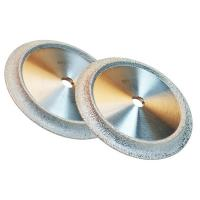 Quality Vacuum Brazed Industrial Diamond Grinding Wheels Optional Size For Jewelry / Gemstone for sale