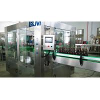 Quality Fully Automatic Beer Glass Bottle Filling Machine / Glass Bottle Packing Machine for sale