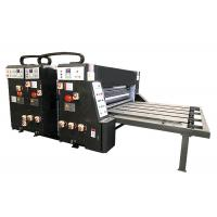 Quality Water - Ink Printing Slotting Die Cutting Machine Semi - Auto Grade For Carton Box for sale