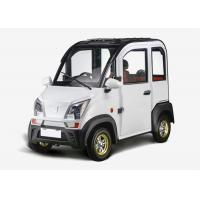 Quality 1200W 3 Seats Mini Electric Car Disc Brake Steering Whleel For Family 2430*1196*1609 MM for sale