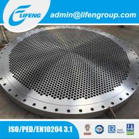 Quality Custom Precision Casting Tube Sheet For Heat Exchanger for sale