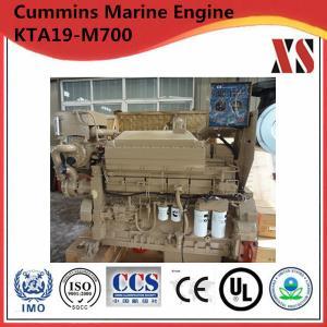 Quality Cummins KTA19-M4 marine engine 700hp diesel wet exhaust manifold boat engine for sale for sale