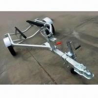 China Jet Ski Trailer with Wooden Craft and 2 x 3 Inches Coupler on sale