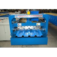 Quality High Speed Galvanised Sheet Metal Forming Equipment With Hydraulic Cutting for sale