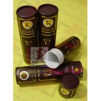 Quality 8 Inch Cardboard Tube Packaging Cylindrical Glossy Lamination Printing for sale