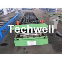 PBU Metal Roof / Wall Panel Roll Forming Machine For PBU, U Panels
