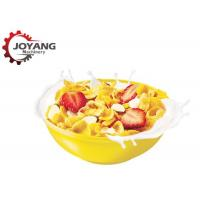 China Cereal Corn Flakes Puffed Corn Snack Making Machine Breakfast Cereals Production on sale