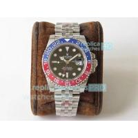 Quality GM Factory Swiss ETA2836 Rolex GMT-Master II Pepsi Rolex Replica Watch for sale