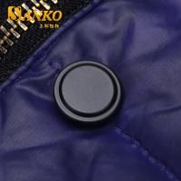 Buy 17mm brass snap button in matte black color in high quality at wholesale prices