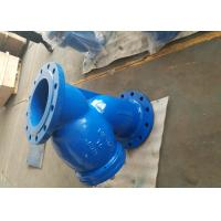 Quality High Pressure Y Strainer Cast Iron SS Screen Mesh BS Standdard PN10 PN16 for sale