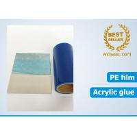 Quality 50 micron scuff resistance eco friendly protective film for sus304ba with low tack adhesive for sale