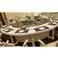 Circle Induction Electric Hibachi Grill Table For Restaurant Basic - Hibachi table restaurant