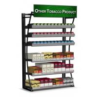 Quality Painted Mobile Cigarette Display Cabinet Stand With Shelves 360 Packs for sale
