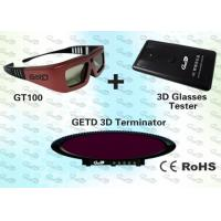 Quality Education Polarised 3D Eye Glasses and Emitter for 3D Institution for sale