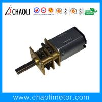 Quality Low Speed High Torque Spur Gear Motor N20 For Auto Shutter And Smart Door Lock for sale