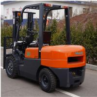 Quality FD30 Diesel Forklift Truck 3000kg Capacity Customized Color 1 Year Warranty for sale