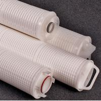 Quality FLHF65 Series Water Filter Cartridges For Industrial Water Treatment High Flow Rate for sale