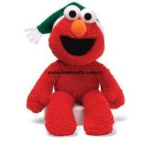 China Plush Red Monster Christams Toys Stuffed on sale