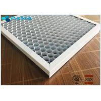 Buy cheap Customized Foil Thickness Aluminum Honeycomb Panels , Honeycomb Metal Sheet from wholesalers