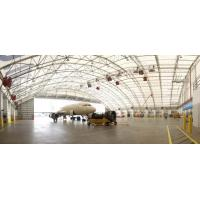 China Prefabricated Steel Pipe Truss Airplane Hangar Buildings Supply Big Room For Plane Parking on sale