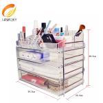 Quality Acrylic box makeup Acrylic boxes Acrylic makeup drawers for sale