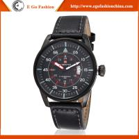 Quality Fashion Casual Watch Stainless Steel Casual Watches Man Genuine Leather Band Watch Quartz for sale