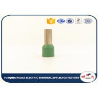Buy cheap Single Wire Crimp Tube Sleeve E series Pipe Pin Insulated Cord End Terminals from wholesalers