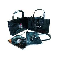 Quality Recyclable Shining Non Woven Carry Bag Logo Personized for Lady Garment for sale