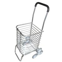 Quality heavy-duty plastic Foldable trolley Shopping Carts 100% new virgin PP for sale