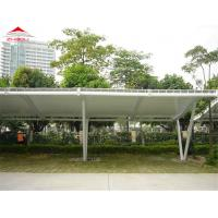 Buy cheap Light Weight Tensile Membrane Structures For Bicycle Parking Shed from wholesalers